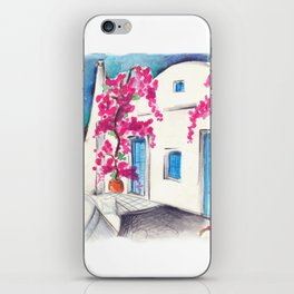 Bougainvillea in Cyclades iPhone Skin
