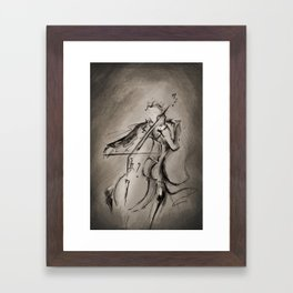 The Cellist Framed Art Print