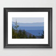 Dipsea Trail Framed Art Print