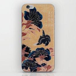 japanese flowers iPhone Skin