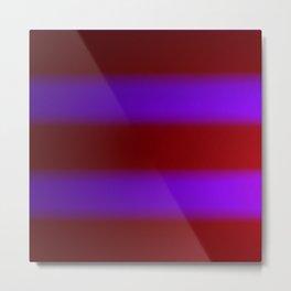 Shimmering Neon Lights. Purple and Garnet Red. Metal Print