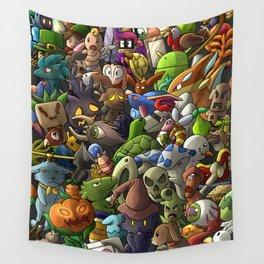 all terrarias pets- Digital version Wall Tapestry
