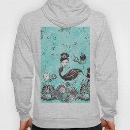 Audrey Mermaid Pattern 10 Hoody