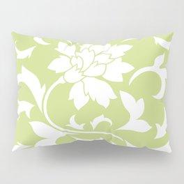 Oriental Flower - Daiquiri Green Pillow Sham