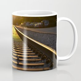 Rainbow Train Tracks - East Austin, Texas Coffee Mug