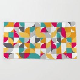 vector Design Deco. Beach Towel