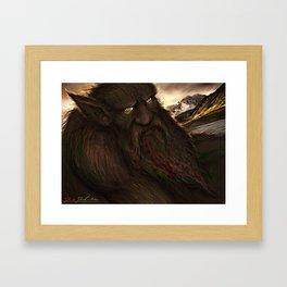 Grendel the Greedy Framed Art Print
