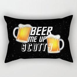Beer Me Up Scotty Rectangular Pillow
