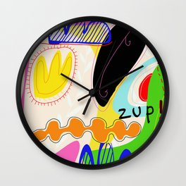Zup Wall Clock