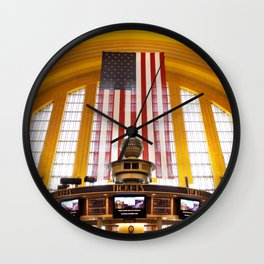 Terminal Delight Wall Clock