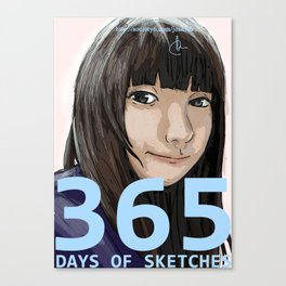365 Days of Sketches #131 Canvas Print