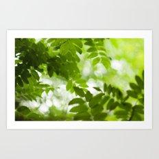 Green Dreams 4348 Art Print