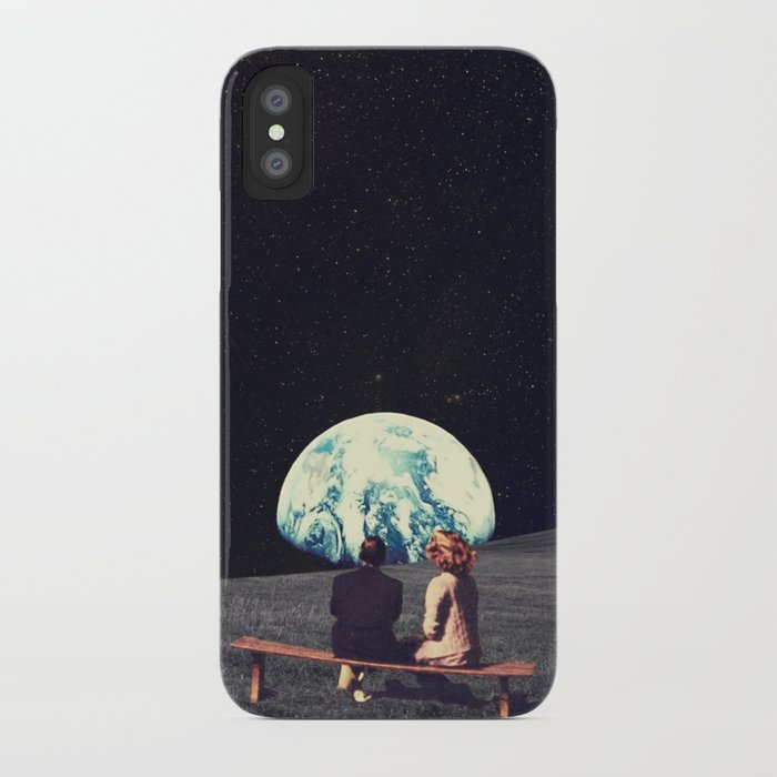 We Used To Live There Iphone Case By Frankmoth Society6