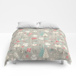 Baby fox pattern 03 Comforters