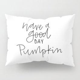 pumpkin thin Pillow Sham