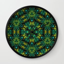 mystical garden Wall Clock
