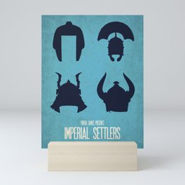 Imperial Settlers - Minimalist Board Games 08 Mini Art Print