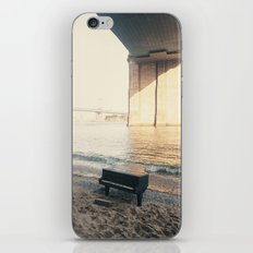 east river piano iPhone & iPod Skin