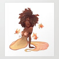 leo Art Prints featuring Leo by Laia™