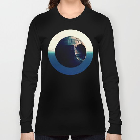 Sci Fi Space Station Long Sleeve T-shirt