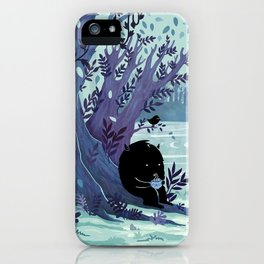 A Quiet Spot of Tea iPhone Case