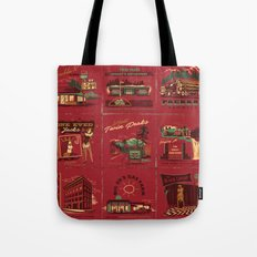 TWIN PEAKS MATCHBOOK SERIES Tote Bag