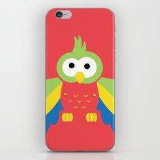Minimal Parrot iPhone & iPod Skin