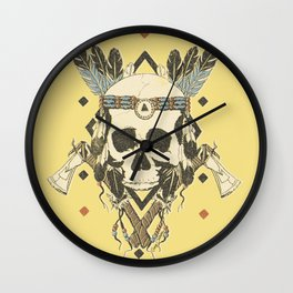 DEAD INJUN Wall Clock