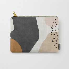 Woman silhouette art, Mid century modern art Carry-All Pouch