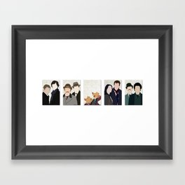 The Holmes and the Watsons Framed Art Print
