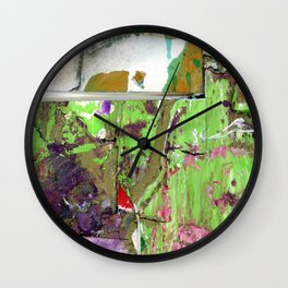 Green Earth Boundary Wall Clock