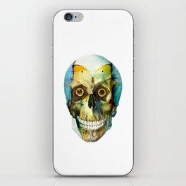 SKULL#02 iPhone Skin