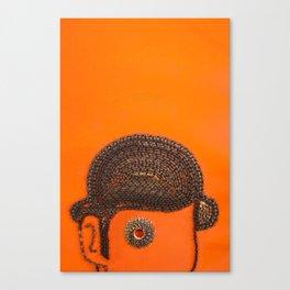 002: Clockwork Orange - 100 Hoopties Canvas Print