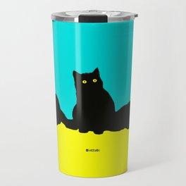 Three Cats Travel Mug