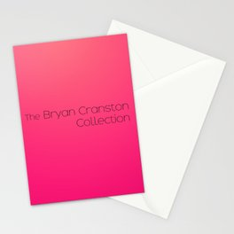 The Bryan Cranston Collection Stationery Cards