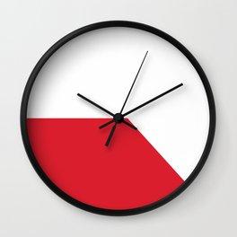 flag of Bratislava Wall Clock