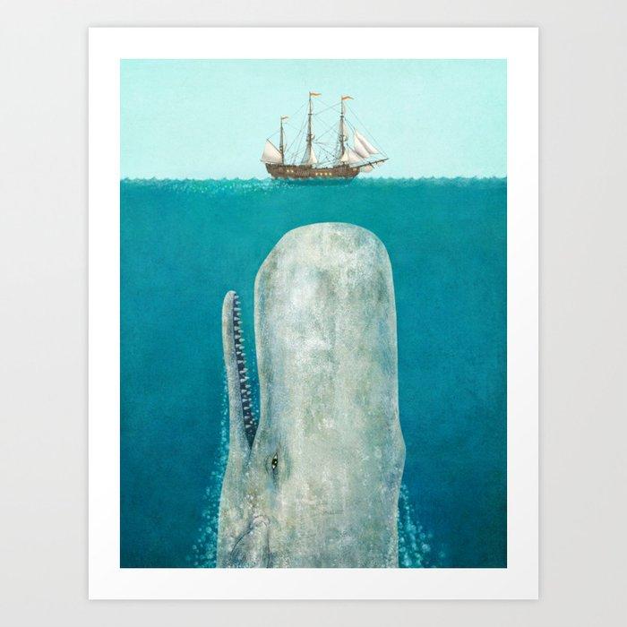 The Whale Kunstdrucke