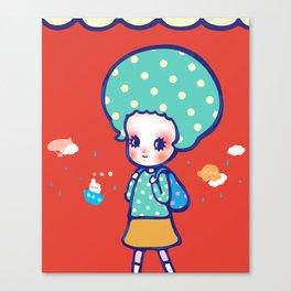 a little travel Canvas Print
