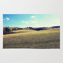 Landscape photograph. Rug