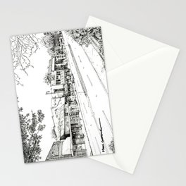 Midtown As Seen from the West Stationery Cards