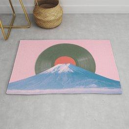 Fuji record Rug
