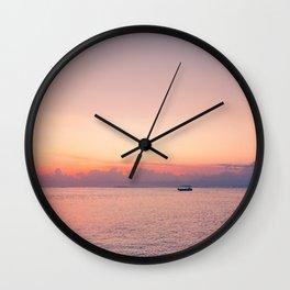 Balinese sunsets Wall Clock