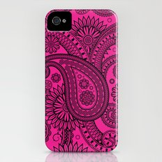 Paisley Pink iPhone (4, 4s) Slim Case