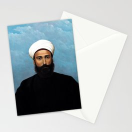 Abdul Qadir al-Rassam - Portrait of Mohamed Darouich al Allousi (1924) Stationery Cards