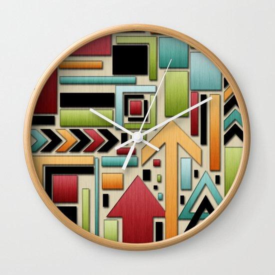 Retro Junk. Wall Clock