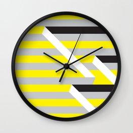 Spun Wall Clock