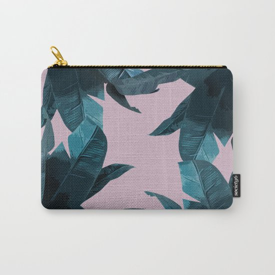 Tropical Palm Print #2 Carry-All Pouch