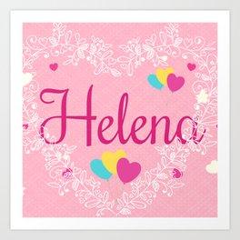 *Helena * Art Print