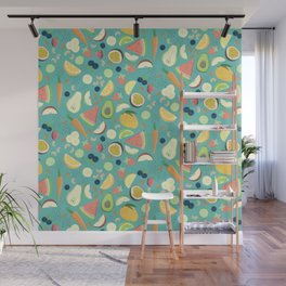 Eat your fruit and vegetables Wall Mural