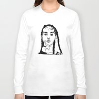 cactei Long Sleeve T-shirts featuring FKA Twigs by ☿ cactei ☿